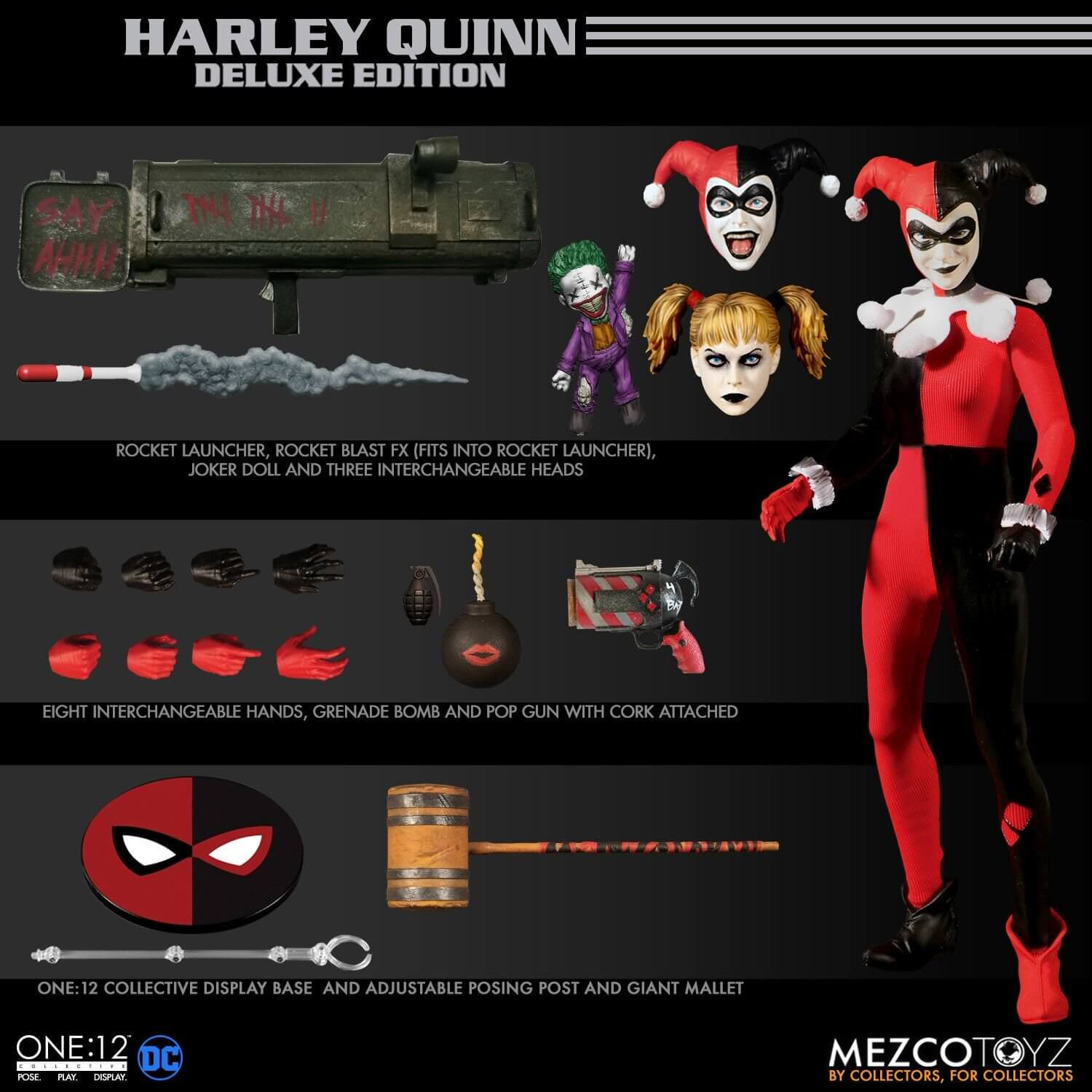 Various Harley Quinn/'s Cover Gallery Deluxe Edition Very Good