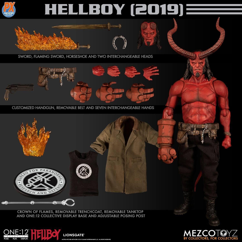 Mezco One 12 Collective Hellboy Movie 2019 Pre Order