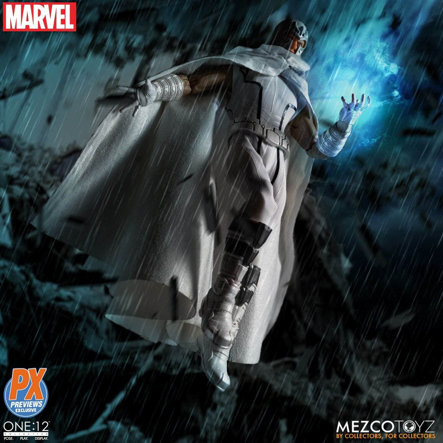 Mezco One 12 Collective Magneto Marvel Now Edition PX Exclusive -4ColorHeroes