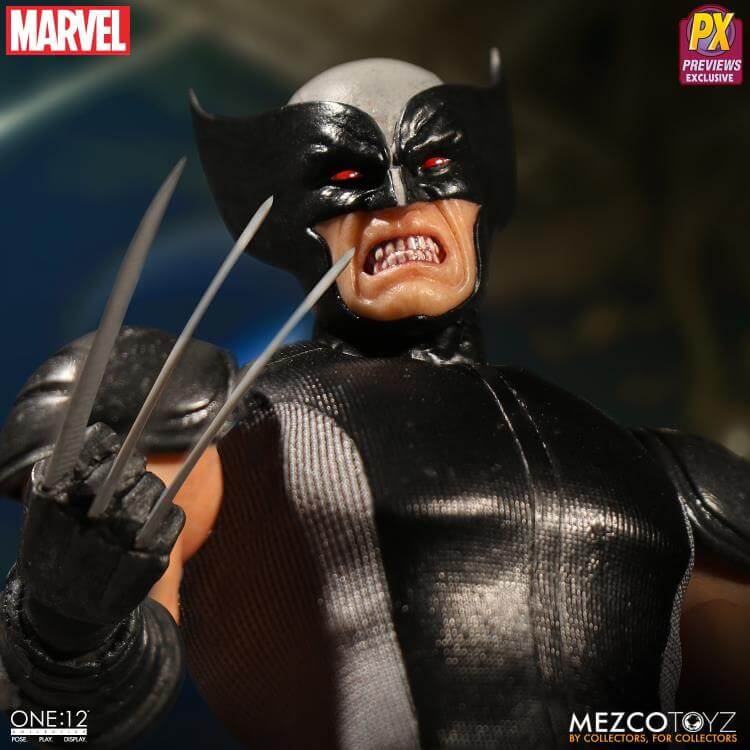 Mezco One:12 X-Force Wolverine PX Exclusive