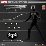 Mezco One:12 Collective Spider-Man Black Suit Previews Exclusive