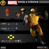 Mezco One:12 Collective Classic Tiger Stripe Wolverine NYCC Exclusive