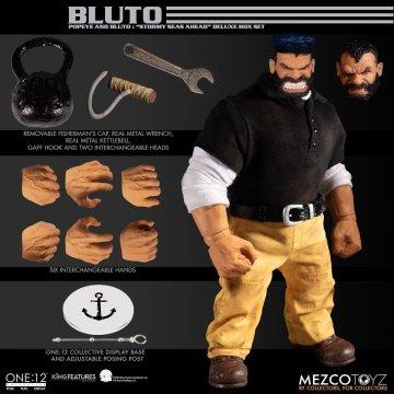 Mezco One 12 Collective Popeye & Bluto Stormy Seas Ahead Deluxe Box Set