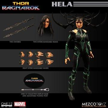 Mezco One:12 Collective Ragnarok Hela